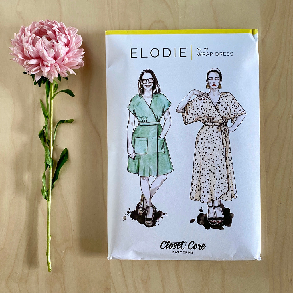 Closet Core Patterns, Elodie Wrap Dress Pattern
