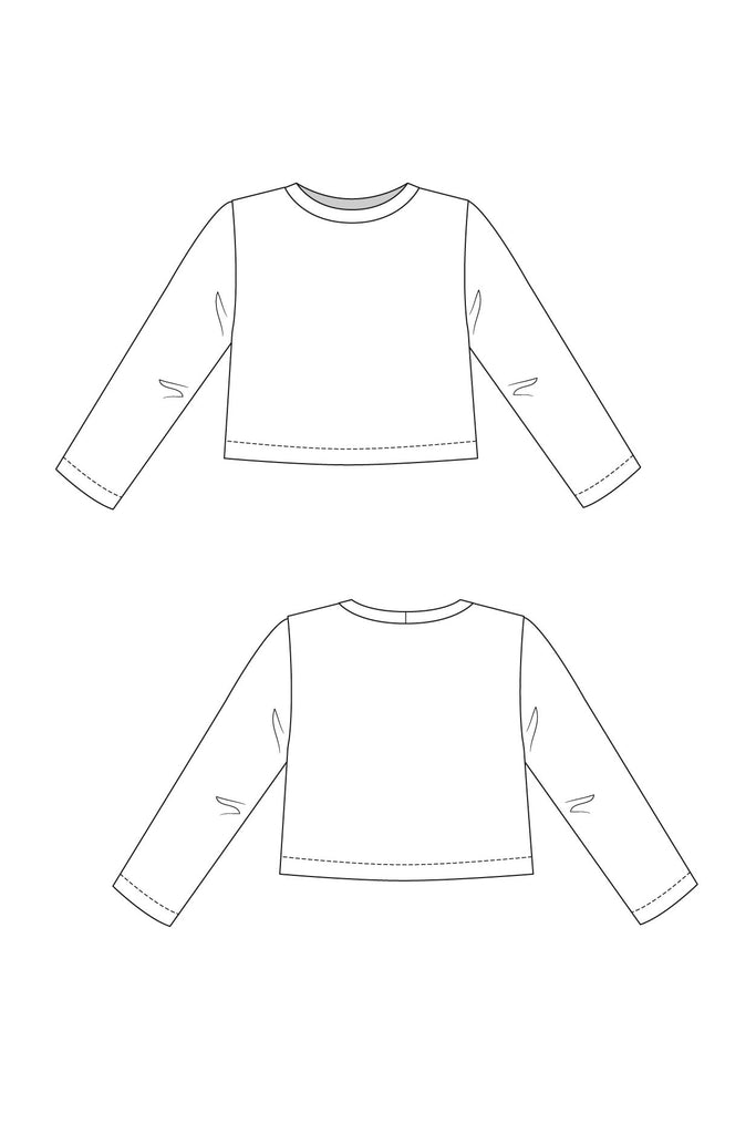 Named Clothing, (Updated, now with long sleeves) Inari Tee or Dress