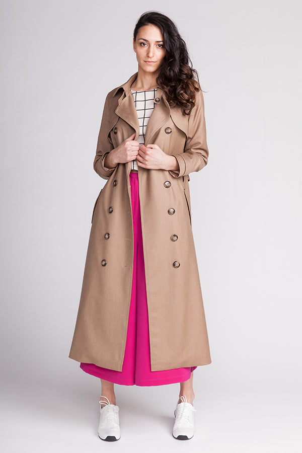 Named Clothing, (Updated) Isla Trench Coat Pattern