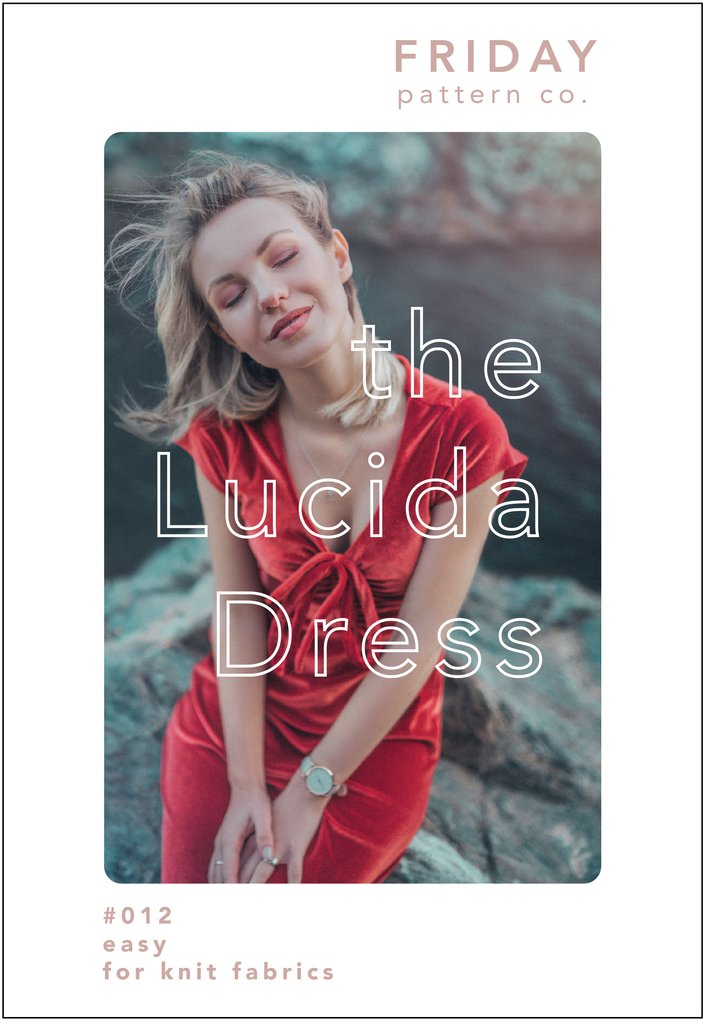 Friday Pattern Co., Lucida Dress,