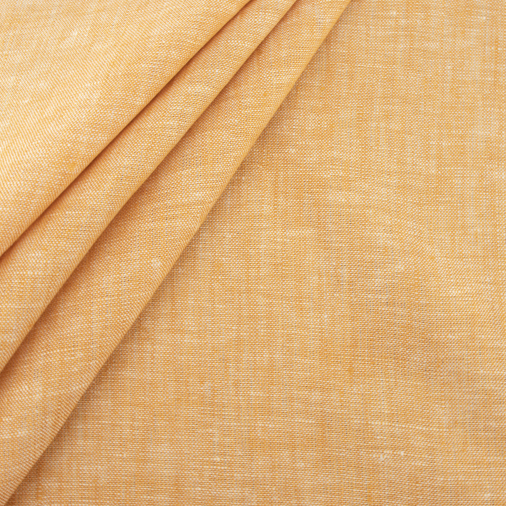 Birch Yarn-dyed Organic Linen Fabric, 1/2 yard, multiple colorways