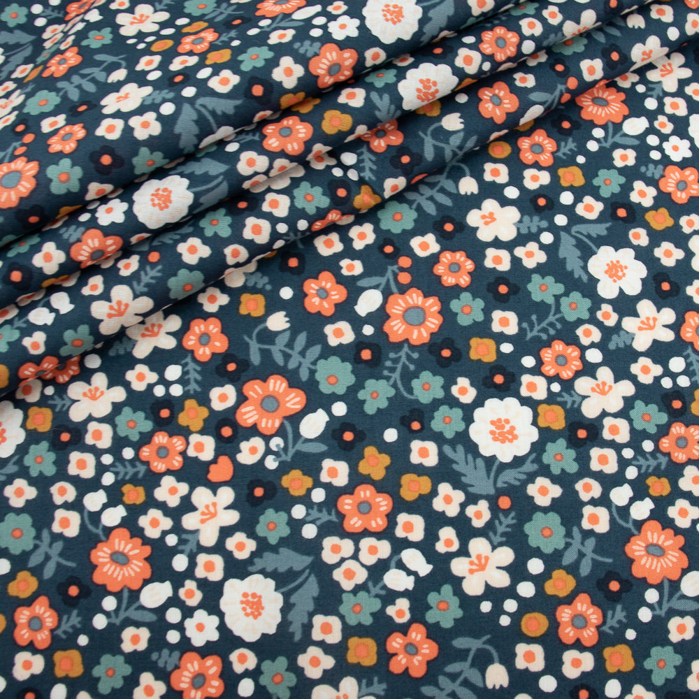 Birch Organic Bella Cotton Lawn by Kristin Barouche, Prints, multiple colorways, 1/2 yard