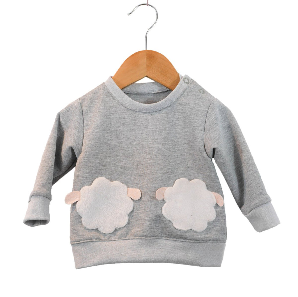 Ikatee (France), Sintra Sweatshirt Sewing Pattern - Baby/Child, 6M-4Y