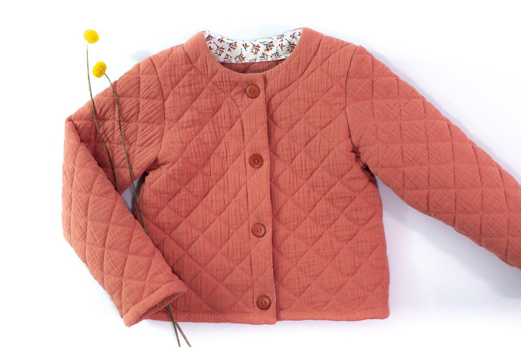Ikatee (France), Vic Cardigan Sewing Pattern - Child, 3-12Y