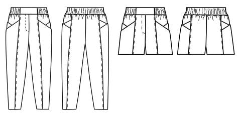 Papercut, Palisade Pants Pattern - Lakes Makerie - Minneapolis, MN