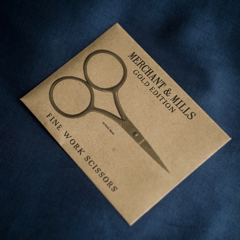 Merchant and Mills Gold Fine Work Scissors - Lakes Makerie - Minneapolis, MN