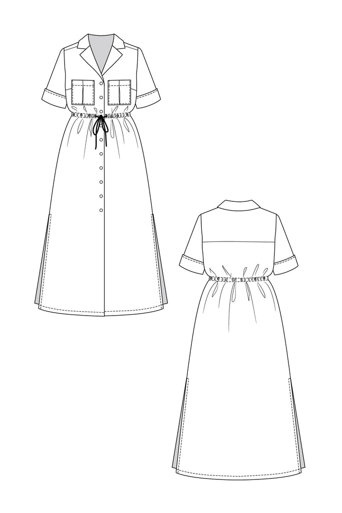 Named Clothing, (Updated) Reeta Dress Pattern