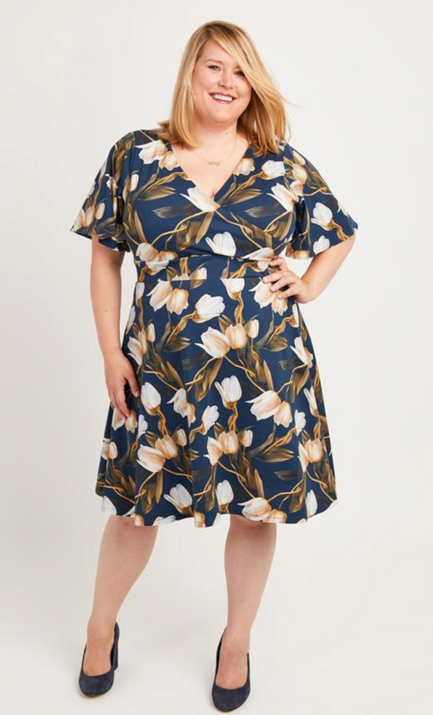 Cashmerette Alcott Dress Curvy Sewing Pattern - Lakes Makerie - Minneapolis, MN