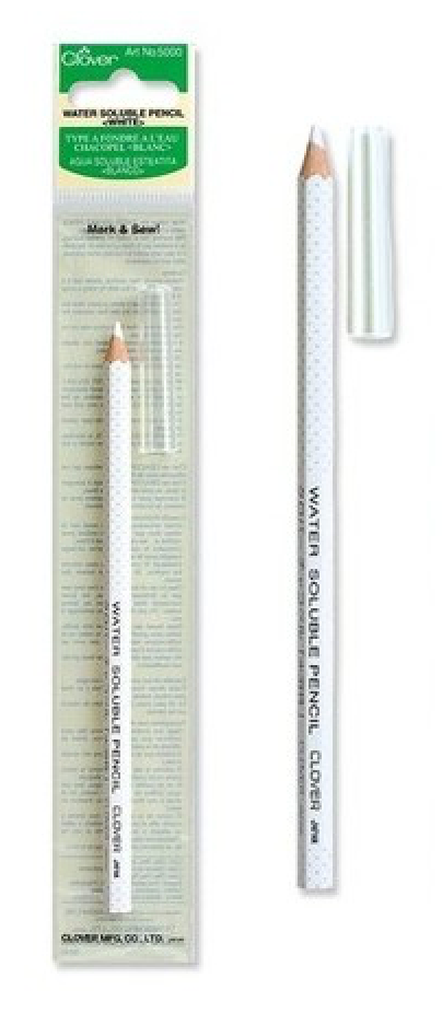 Water Soluble Pencil-White - Lakes Makerie - Minneapolis, MN