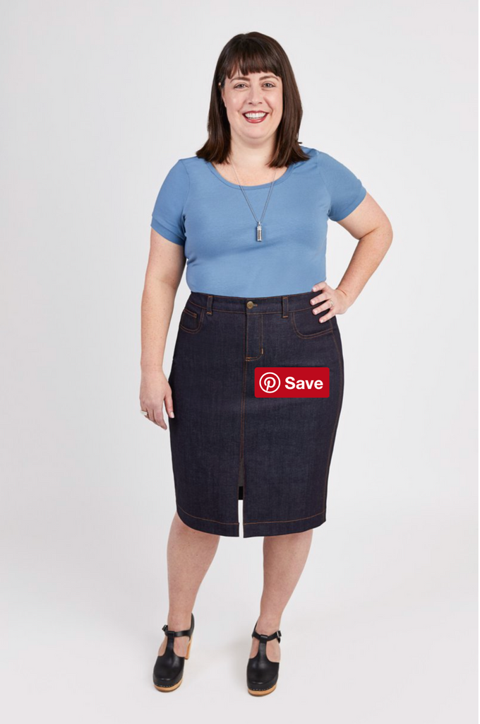 Cashmerette Ellis Skirt, Curvy Sewing Pattern - Lakes Makerie - Minneapolis, MN