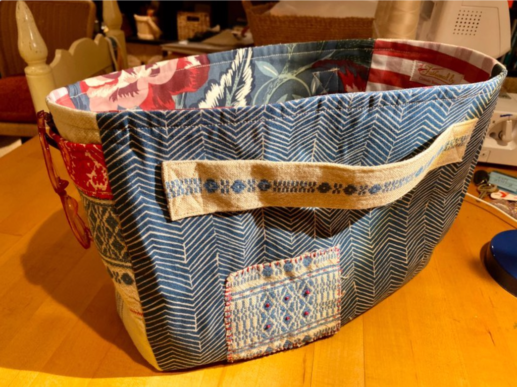 "Make the ""Making Magazine"" Japanese Style Linen Tote - Lakes Makerie - Minneapolis, MN"