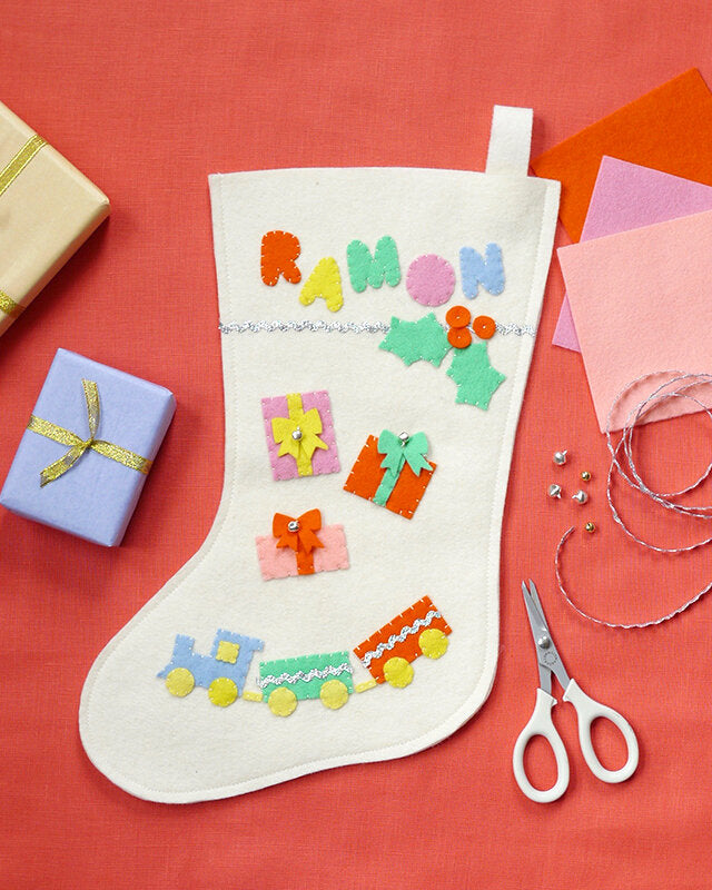 Fair Play Projects, Felt Charm Stocking Kit