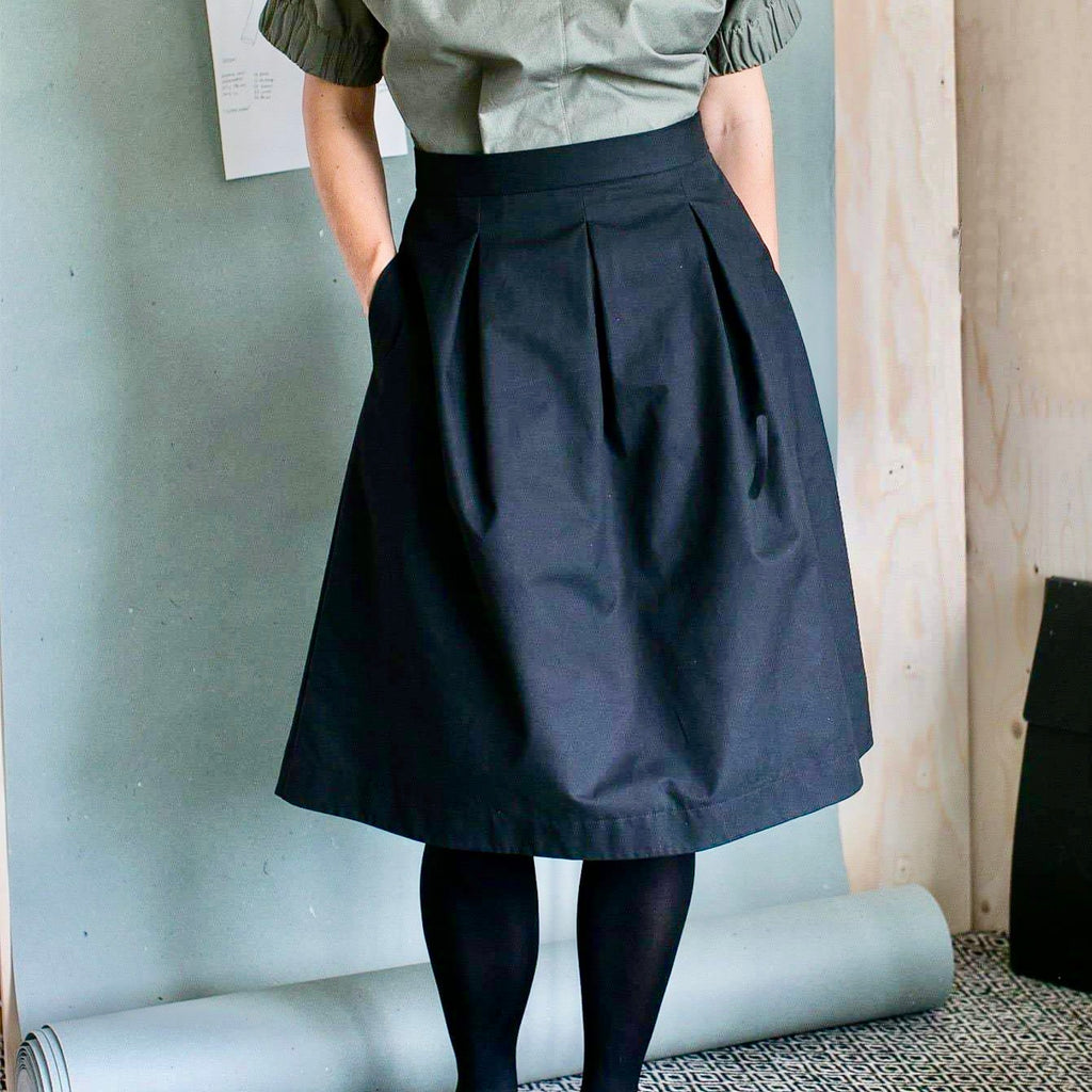 The Assembly Line, Three Pleat Skirt Pattern, Sweden