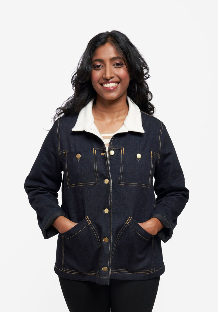 Grainline Studio, Thayer Jacket Pattern - Lakes Makerie - Minneapolis, MN