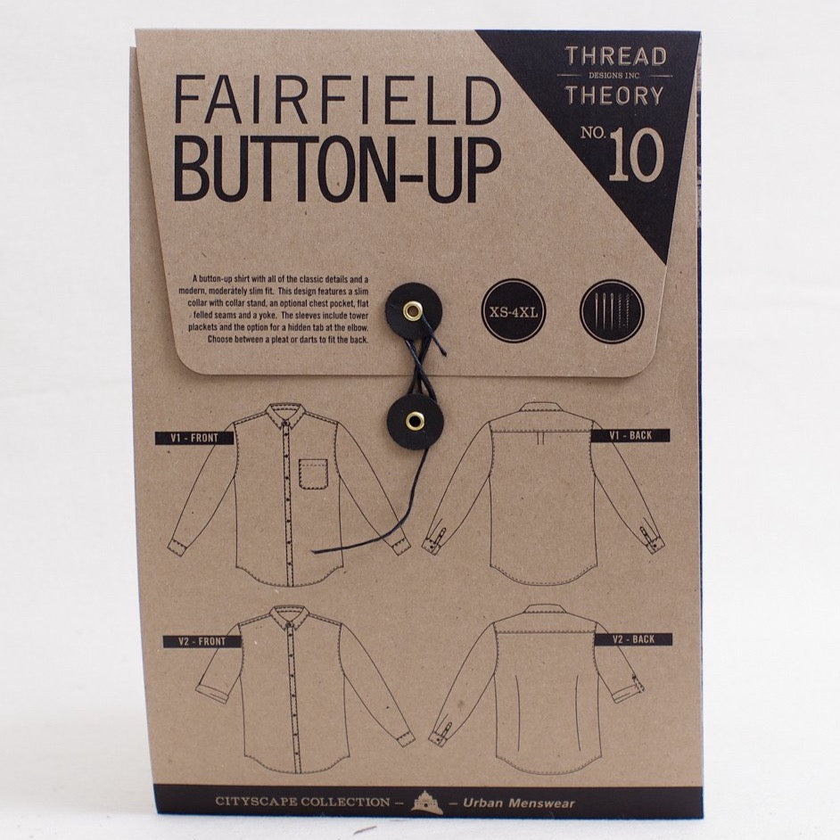 Thread Theory Fairfield Button-up Shirt Pattern