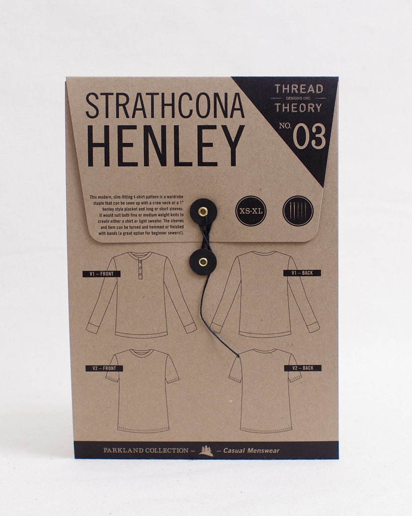 Thread Theory Men's Strathcona Henley Pattern - Lakes Makerie - Minneapolis, MN