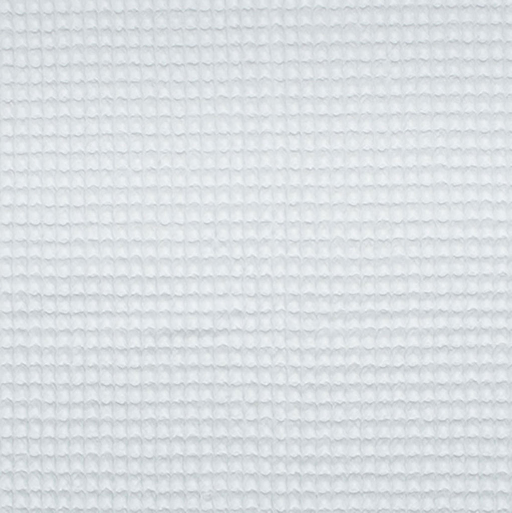Cotton Waffle Terry Cloth, Heavy weight (19 oz.) White,  1/2 yard