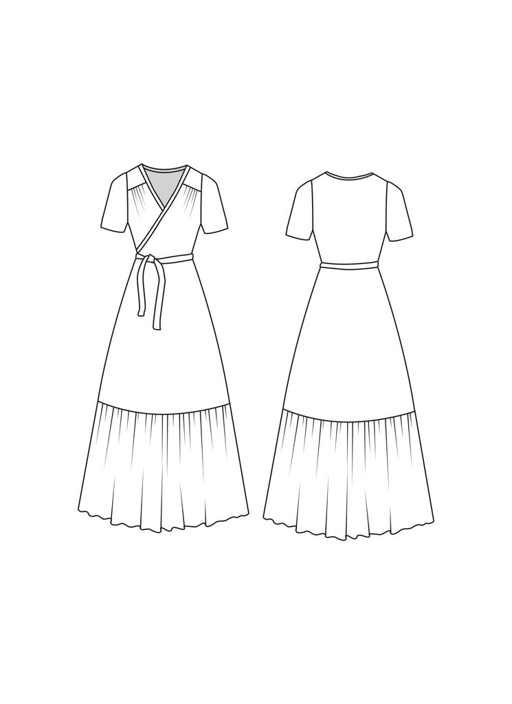 Friday Pattern Co., the Westcliff Dress sewing pattern - Lakes Makerie - Minneapolis, MN