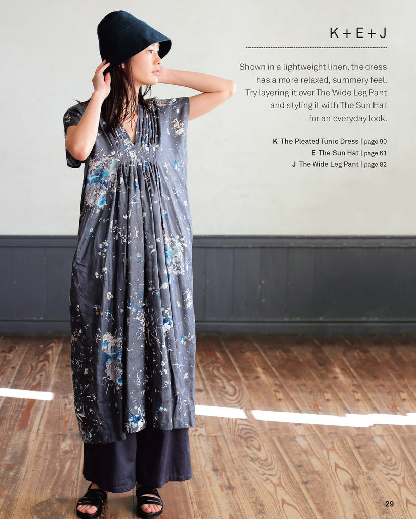 Nani Iro Sewing Studio: 18 Timeless Patterns to wear and love - Lakes Makerie - Minneapolis, MN