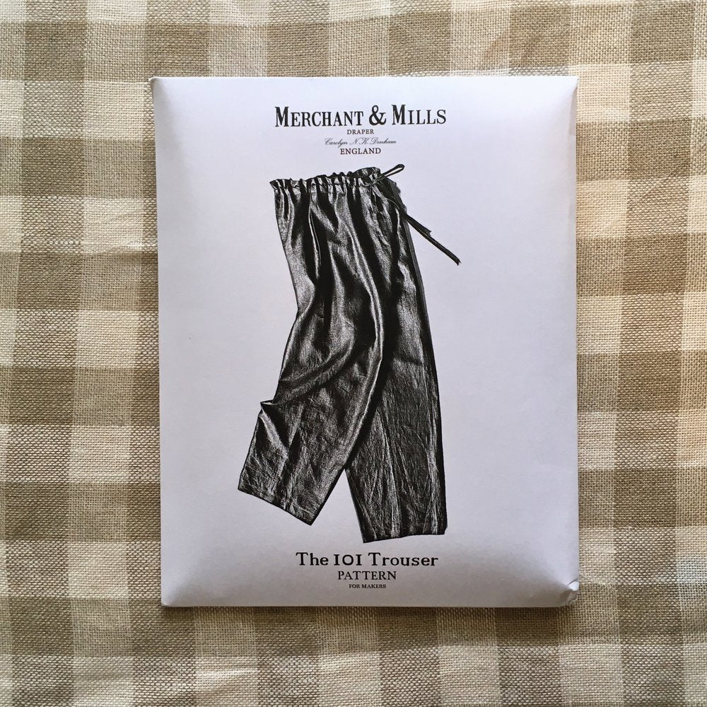 Merchant & Mills The 101 Trouser Sewing Pattern - Lakes Makerie - Minneapolis, MN