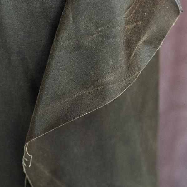 "British Oilskin, ""Khaki"", Merchant & Mills, 1/2 yard - Lakes Makerie - Minneapolis, MN"