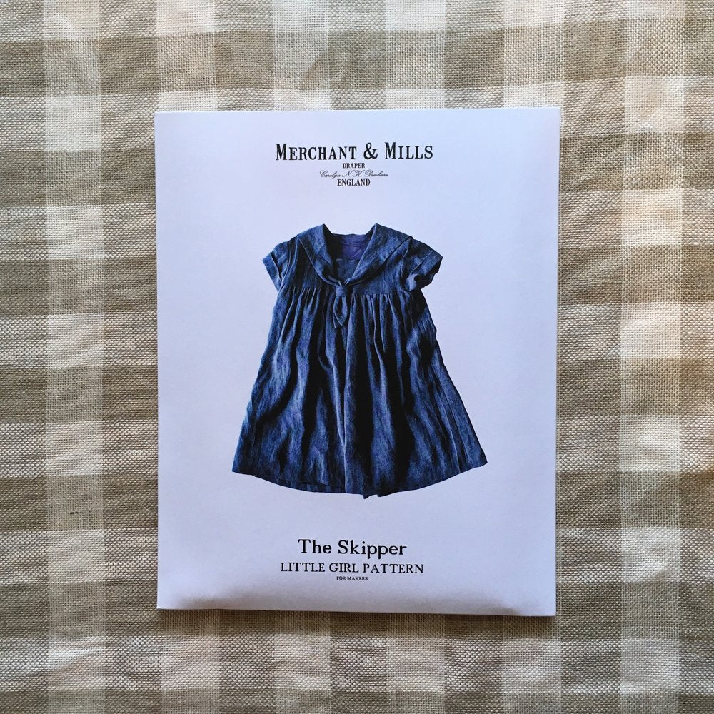 Merchant & Mills, The Skipper Dress Pattern for Girls - Lakes Makerie - Minneapolis, MN