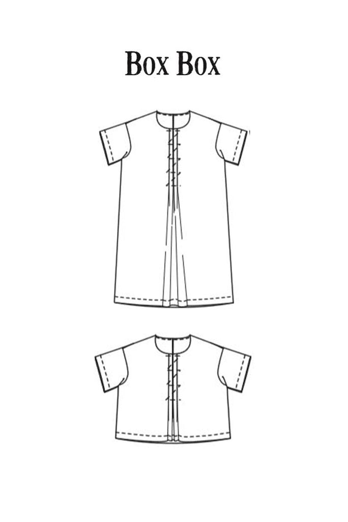 Merchant & Mills, Box Box Top or Dress Pattern - Lakes Makerie - Minneapolis, MN