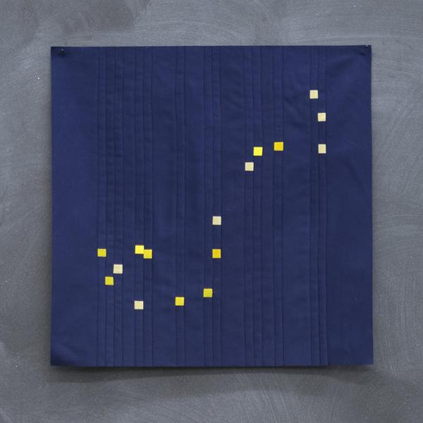 Fancy Tiger Constellation Block Pattern from Fancy Tiger - Lakes Makerie - Minneapolis, MN