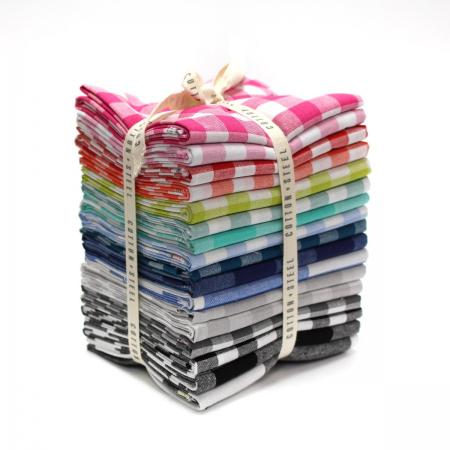 Cotton and Steel Checkers Fat Quarter Bundle
