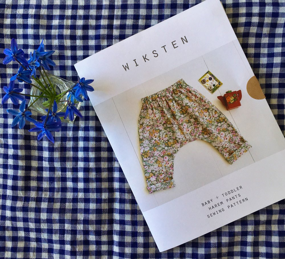 Wiksten Made Baby + Toddler Harem Pants Pattern - Lakes Makerie - Minneapolis, MN
