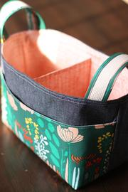 Noodlehead Divided Basket Sewing Pattern Pattern - Lakes Makerie - Minneapolis, MN