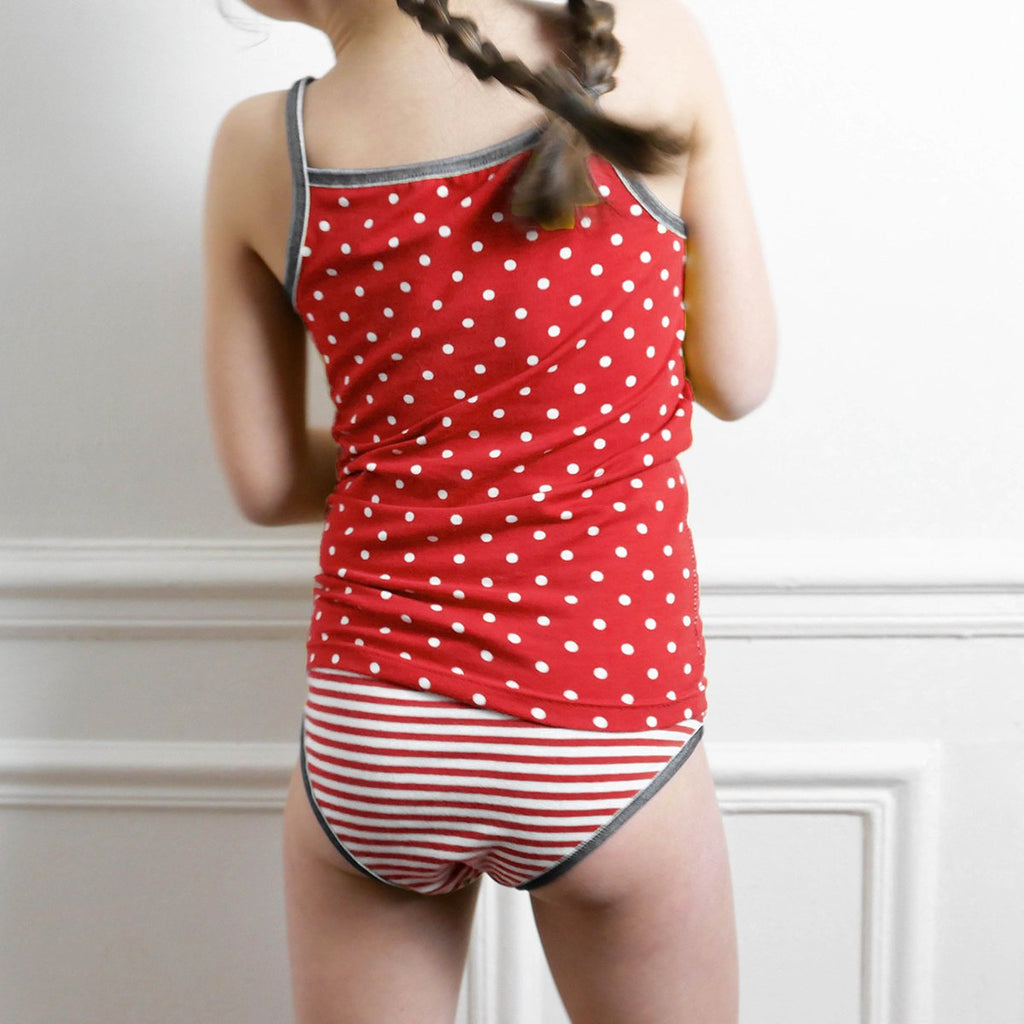 Ikatee (France), Belle Underwear Set Sewing Pattern - Girl, 3-12Y
