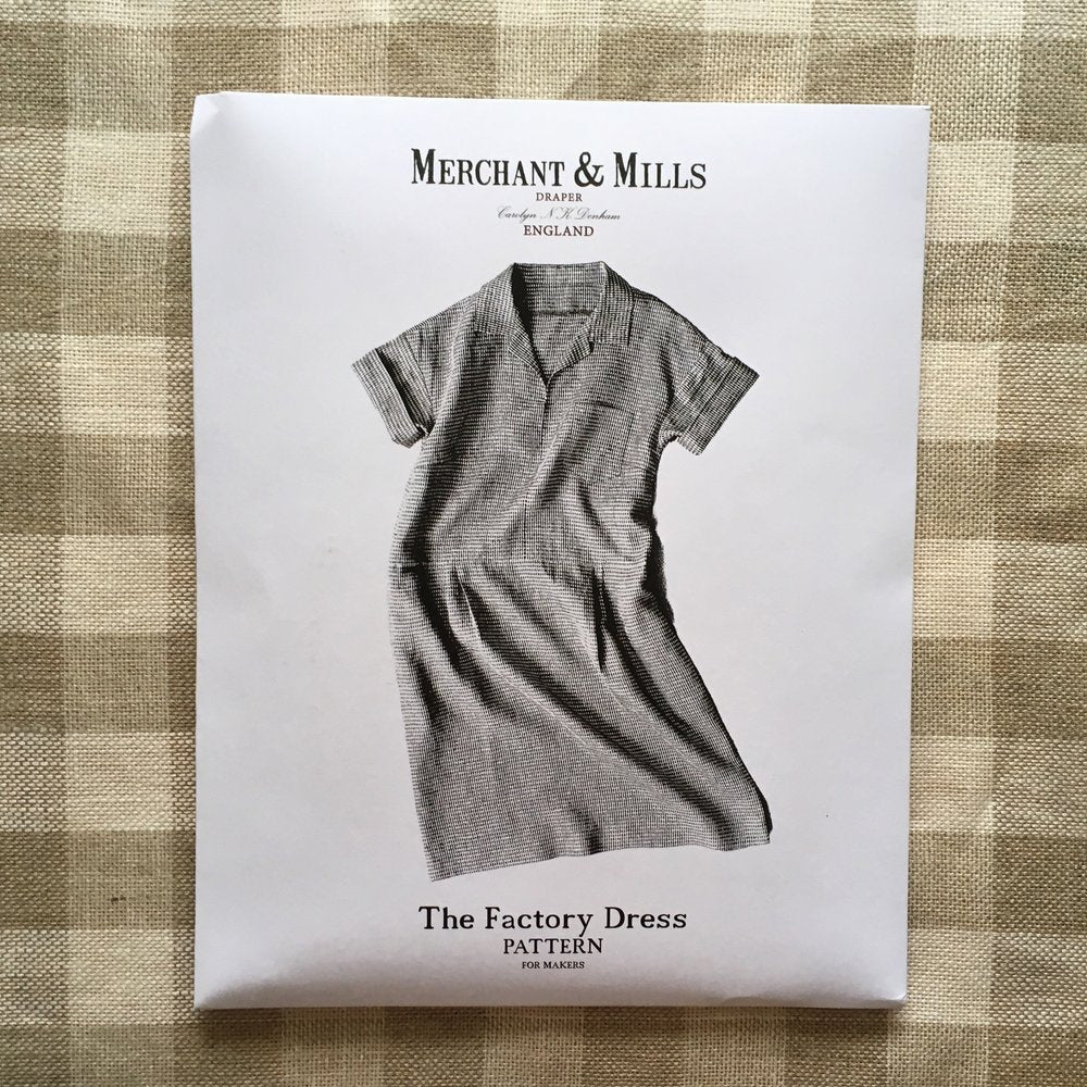 Merchant & Mills, The Factory Dress Pattern - Lakes Makerie - Minneapolis, MN