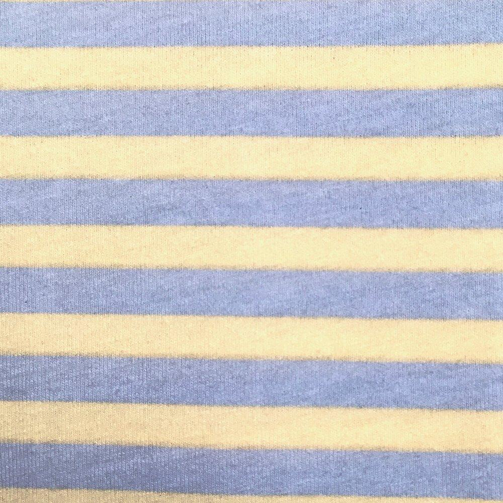 Blake Striped Cotton Jersey Knit Fabric,  1/2 yard, three colorways - Lakes Makerie - Minneapolis, MN