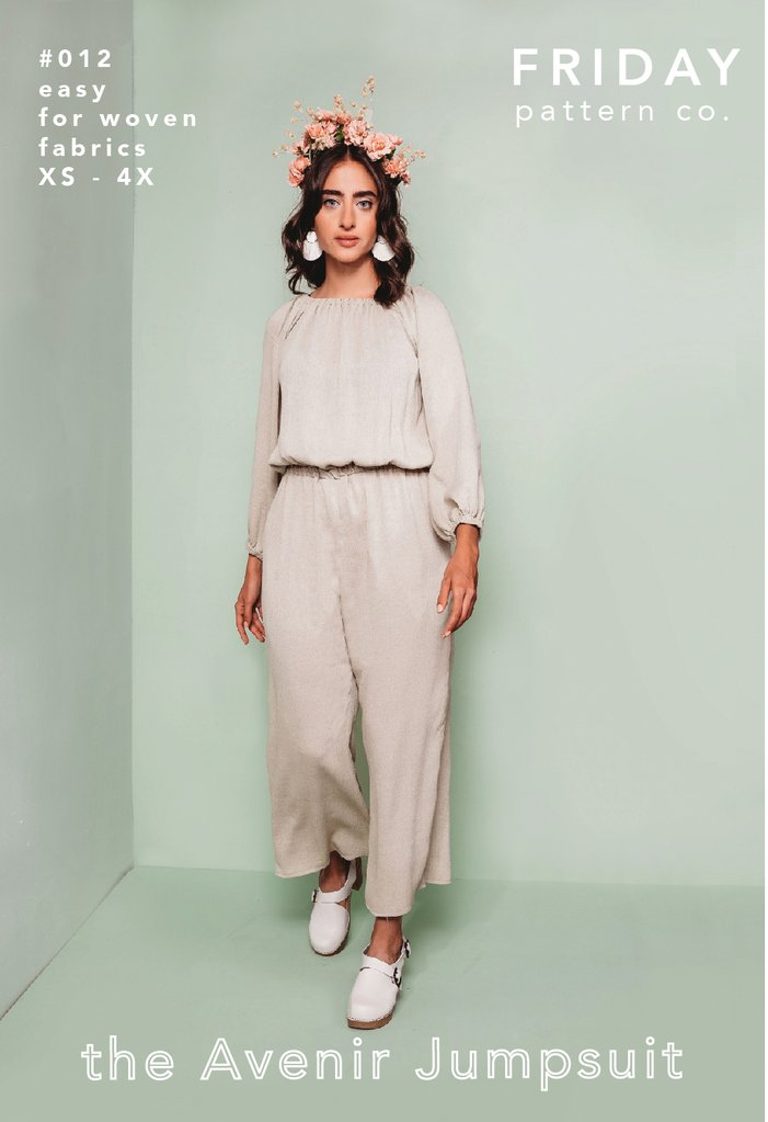 Friday Pattern Co., the Avenir Jumpsuit sewing pattern - Lakes Makerie - Minneapolis, MN