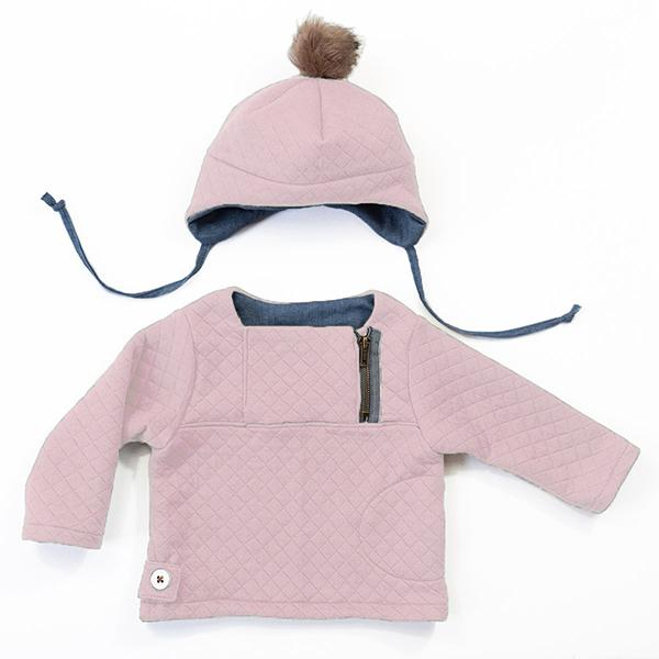 Ikatee (France), Hugo Sweatshirt and Hat Sewing Pattern - Baby/Child, 6M-4Y
