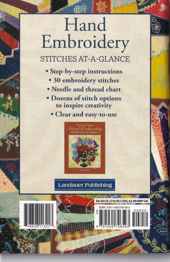 Hand Embroidery: Stitches at a Glance