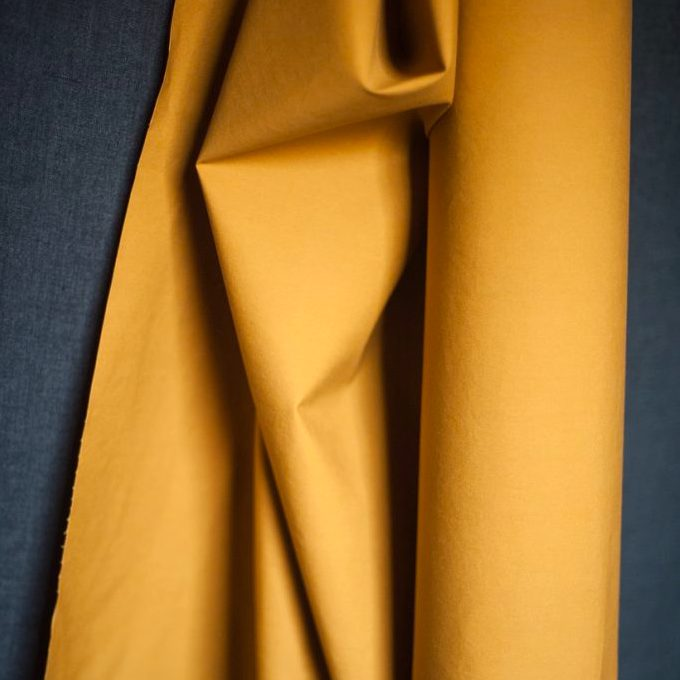 Dry British Oilskin, Cumin yellow, Merchant & Mills, 1/2 yard - Lakes Makerie - Minneapolis, MN