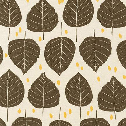Quarry Trail, Natural, Linen/Cotton Fabric, 1/2 yard