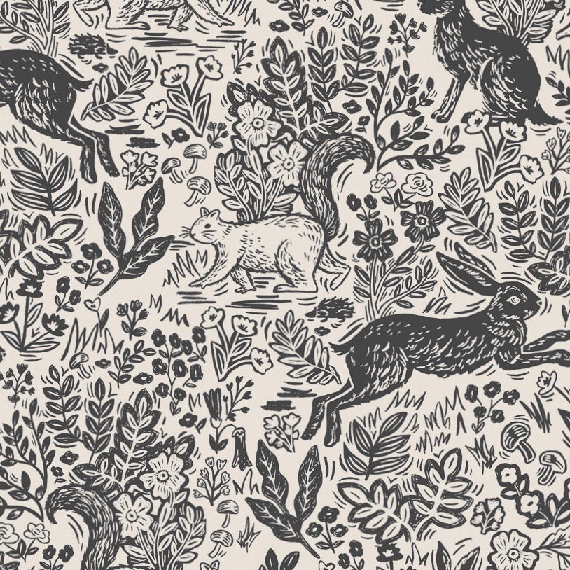 Wildwood Fable Cream Fabric