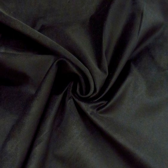 Ralph Lauren, stretch velveteen, Black, 1/2 yard - Lakes Makerie - Minneapolis, MN