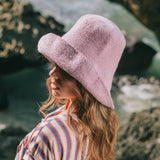 Soft Crochet Sun Hat - Lilac Purple