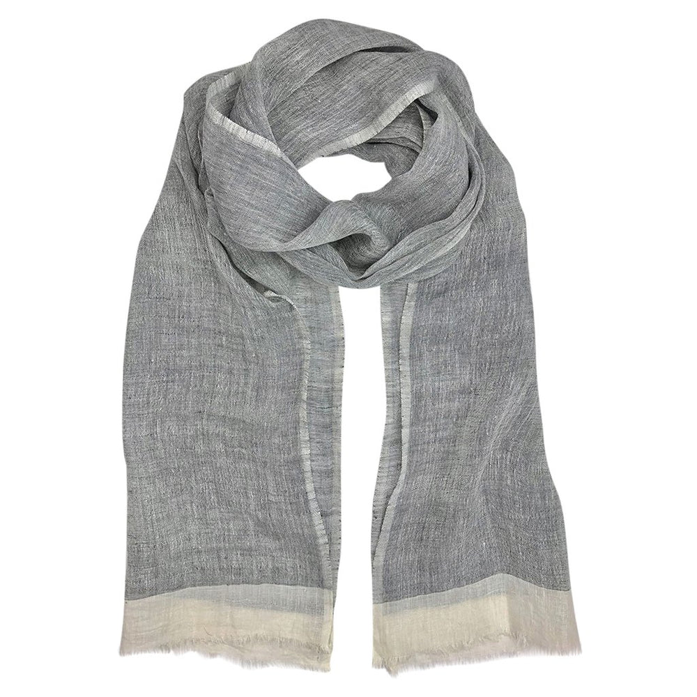 Gauze Linen Two-Toned Scarf