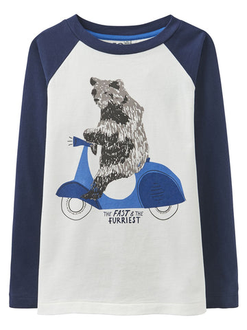 Joules Shirt LS Fast and Furriest