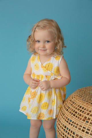 Angel Dear Sunshine Kimono Dress and Diaper Cover