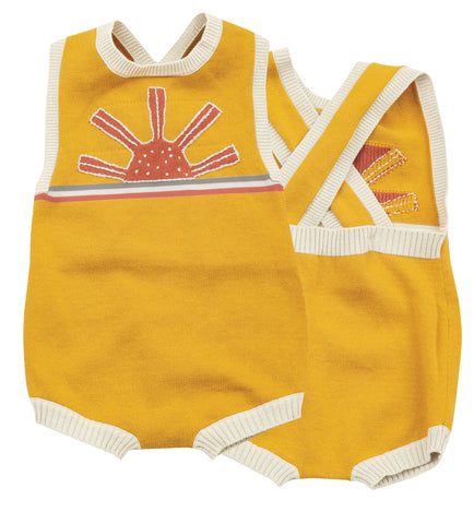 Angel Dear California Dreaming Vintage Sun Sunsuit