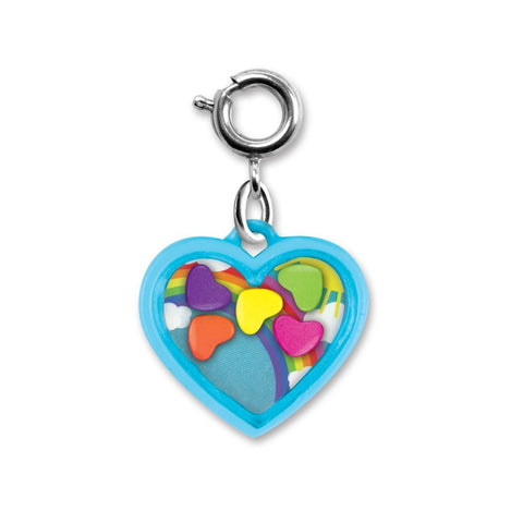 Charm It Rainbow Heart Shaker
