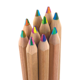 Ooly Kaleidoscope 5 in 1 Multicolored Chunky Pencils