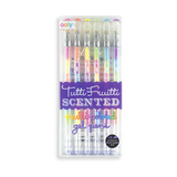 Ooly Tutti Fruitti Scented Multi Colored Gel Pens Set Of 6