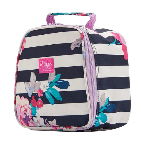 Joules Lunchbox Navy Stripe Floral